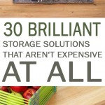 Storage, storage ideas, DIY storage ideas, popular pin, home organization, home storage ideas, organization, frugal storage, frugal living.