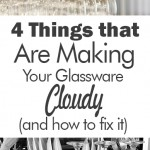 4 Things that Are Making Your Glassware Cloudy (and how to fix it)