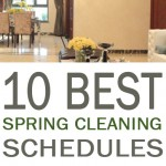 10 Best Spring Cleaning Schedules