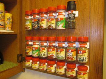 spice rack | spice | diy | organize | pantry | cabinet | spices | spices organization | spices storage
