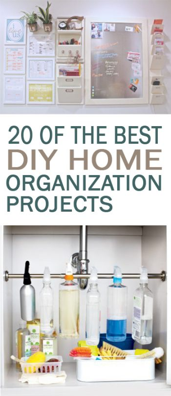 20 of the Best DIY Home Organization Projects