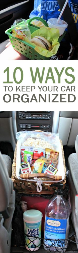 Organization, Car Organization, How to Keep Your Car Organized, Car Cleaning Hacks, How to Clean Your Car, Easy Ways to Clean Your Car, Quick Ways to Clean Your Car, Popular Pin