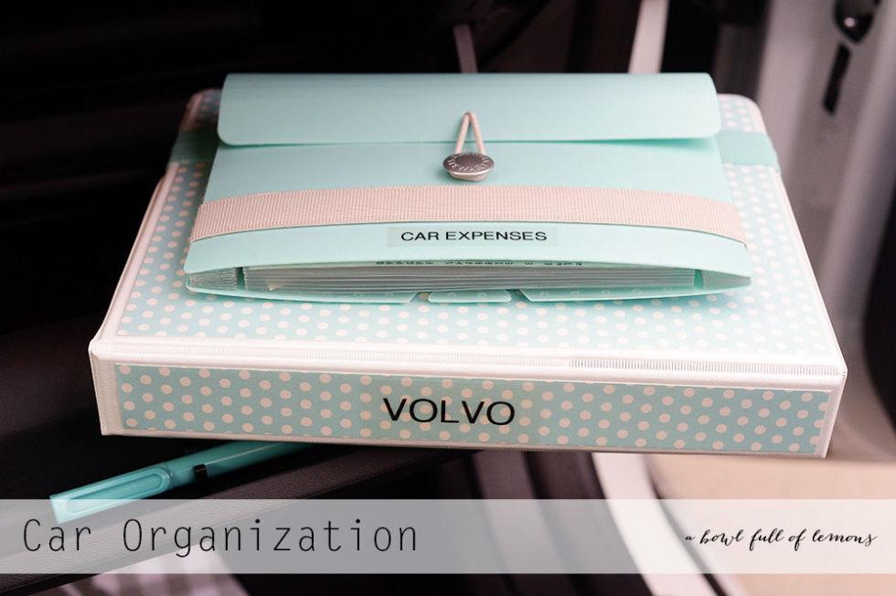 10 Ways to Keep Your Car Organized7