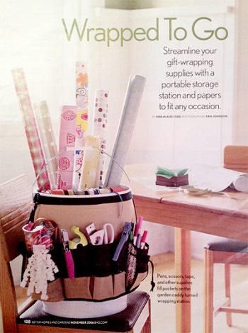 20 Ways to Organize Wrapping Paper3