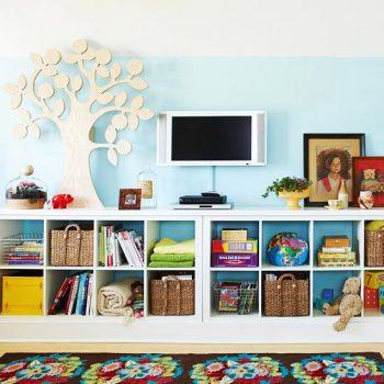 13 Genius Ways to FINALLY Organize Kid Clutter4