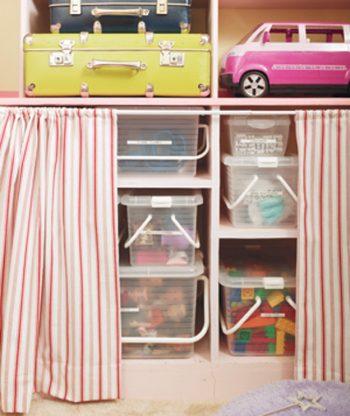 13 Genius Ways to FINALLY Organize Kid Clutter5
