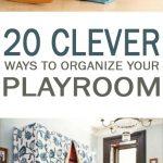 Playroom organization, organization, DIY home, organized home, popular pin, kids organization, staying organized with kids.
