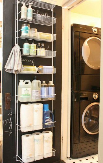 10 DIYs for an Organized Laundry Room10