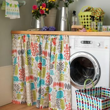 10 DIYs for an Organized Laundry Room5