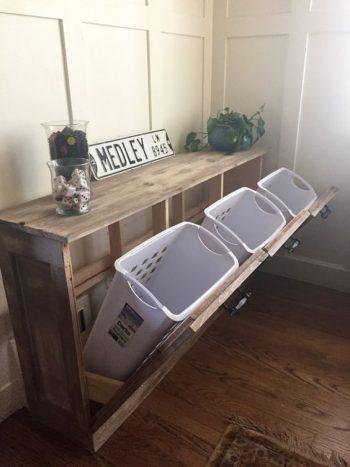 10 DIYs for an Organized Laundry Room9