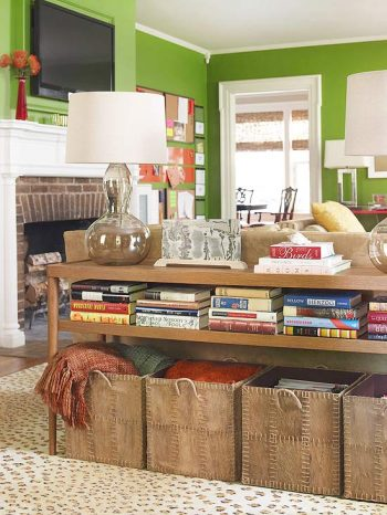10 Ways You Can Use Your Living Room Furniture as Storage5