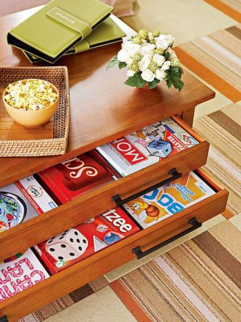 10 Ways You Can Use Your Living Room Furniture as Storage9