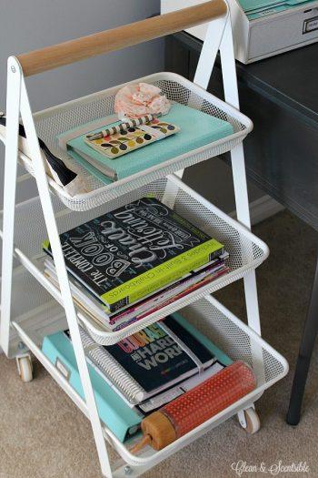 12 Ways to Organize Your Tiny Desk5
