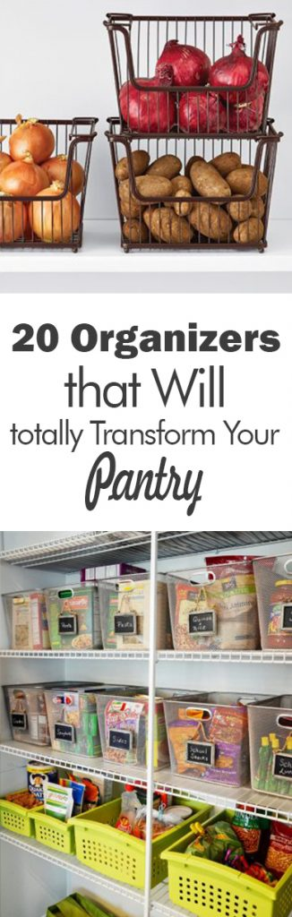 20 Organizers that Will Totally Transform Your Pantry - 101 Days of Organization. Pantry Organization, Pantry Organization TIps and Tricks, Organization, Kitchen Organization, Home Organization, #organization #kitchenorganization #organized pantry #homeorganization