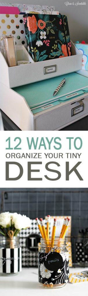 Desk organization, office organization, office clutter, popular pin, DIY organization, DIY organized office, popular pin, how to organize your desk