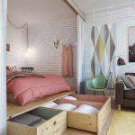 15 Brilliant Organization Hacks for Tiny Bedrooms
