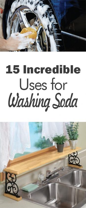Washing Soda, Uses for Washing Soda, Things to Do With Washing Soda, Cleaning, Cleaning Hacks, Cleaning Tips and Tricks, Popular Pin