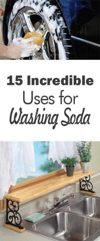 Washing Soda, Uses for Washing Soda, Things to Do With Washing Soda, Cleaning, Cleaning Hacks, Cleaning Tips and Tricks, Popular Pin