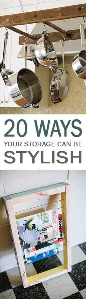Storage, Organization, Storage Hacks, Home Storage, Clutter Free Living, Home Organization, Storage Tips and Tricks, Popular Pin