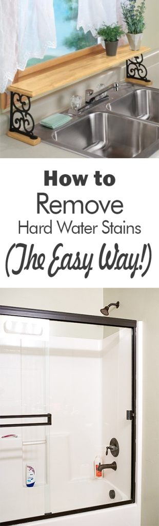 Hard Water Stain Removal, Removing Stains, Cleaning Messes, Hard Water Spots, Bathroom Cleaning Hacks, Popular Pin, Cleaning Tips and Tricks.