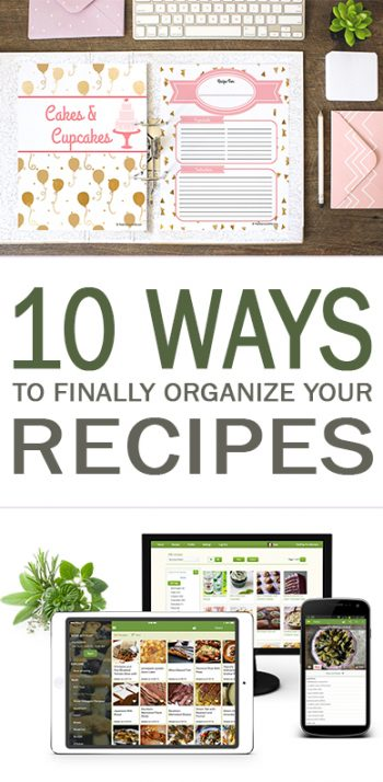 Recipe Organization, How to Organize Your Recipes, Recipe Organization Hacks, Quick Ways to Organize Your Recipes, Easy Ways to Organize Your Recipes, Organization, Kitchen Organization, Kitchen Organization Tips, Popular Pin