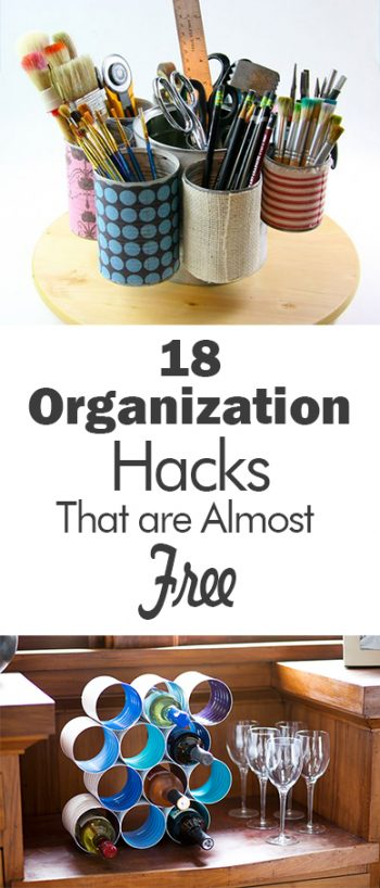 Cheap Organization, How to Organize Frugall,y Cheap Organization Ideas, Inexpensive Home Storage, Inexpensive Storage For the Home, Popular Pin, Storage Ideas, Organization Hacks