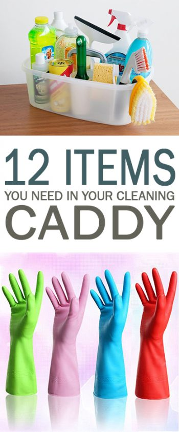 PIN 12 Items You Need in Your Cleaning Caddy