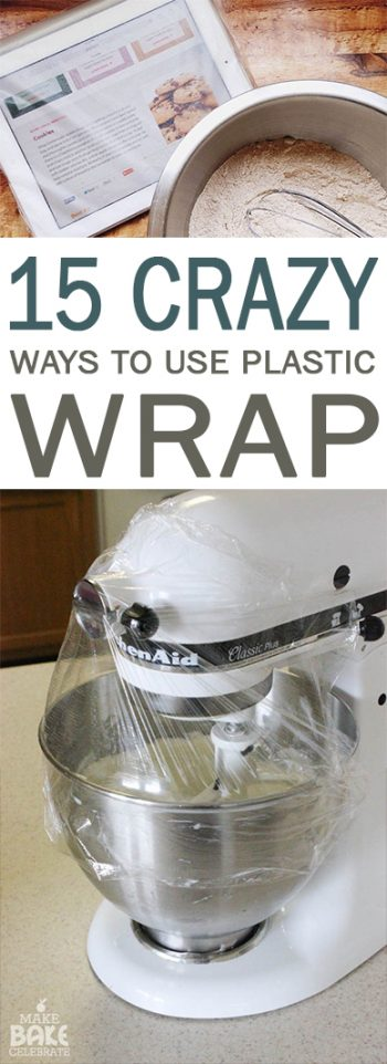 How to Use Plastic Wrap, Uses for Plastic Wrap, Easy Ways to Use Plastic Wrap, Popular Pin Life Hacks, Plastic Wrap Hacks, Easy Life Hacks, Genius Life Hacks