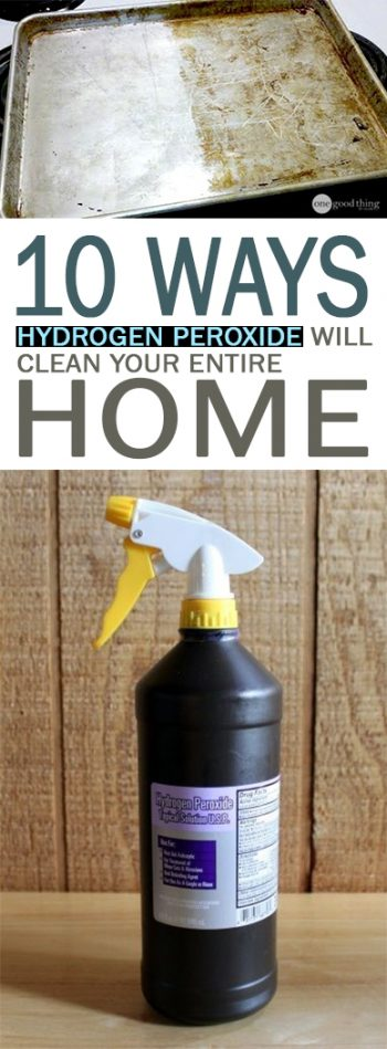 Uses for Hydrogen Peroxide, How to Use Hydrogen Peroxide, Great Ways to Use Peroxide, How to Use Peroxide In the Home, Life Hacks, Cleaning Tips and Tricks, Popular Pin, #cleaninghacks, #cleaningtips, #cleanhometips, #cleaningproducts, #allnaturalcleaning
