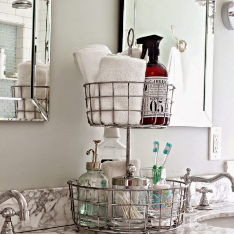 How to Organize Your Bathroom, Bathroom Organization, Bathroom Organization Tips and Tricks, Bathroom, Clutter Free Bathroom, Cleaning Tips and Tricks, Bathroom Cleaning Tips, Popular Pin.