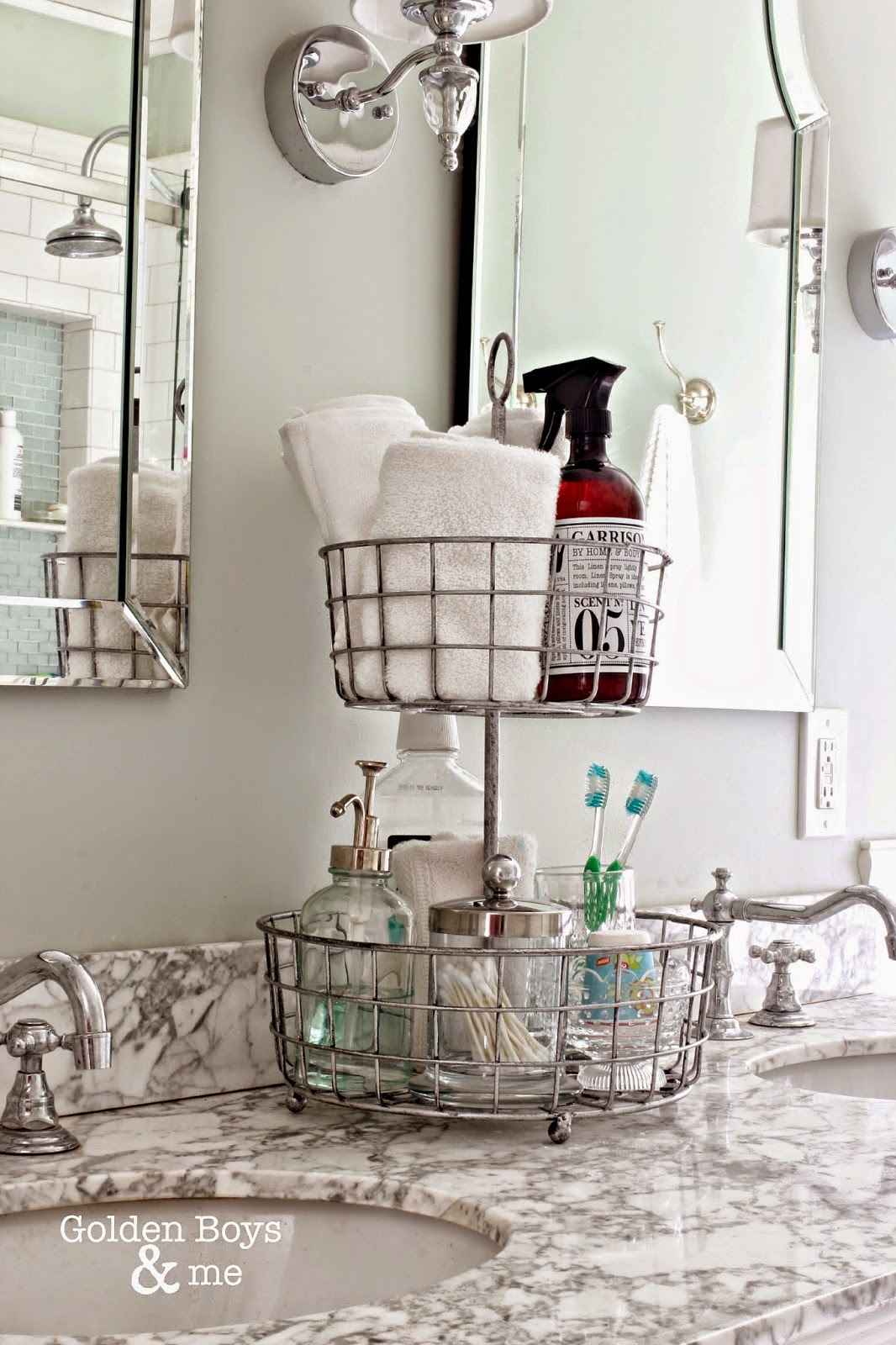 10 Ways To Totally Organize Your Bathroom In 10 Minutes   101 Days Of  Organization