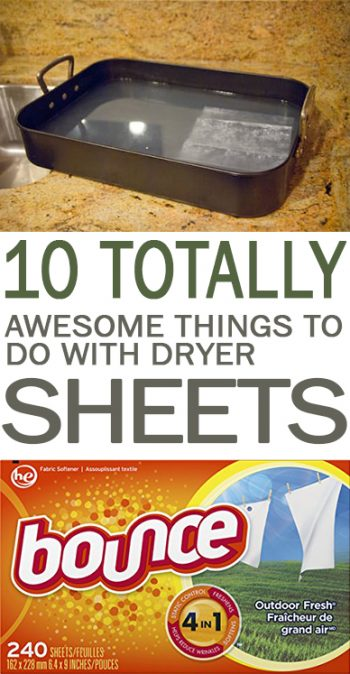 10 totally awesome things to do with dryer sheets page 13 of 13 101 days of organization. Black Bedroom Furniture Sets. Home Design Ideas