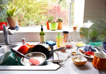 Counter Clutter | How to Counteract Counter Clutter | Declutter | Kitchen Counter Clutter | Clutter Clearing Ideas | Clutter