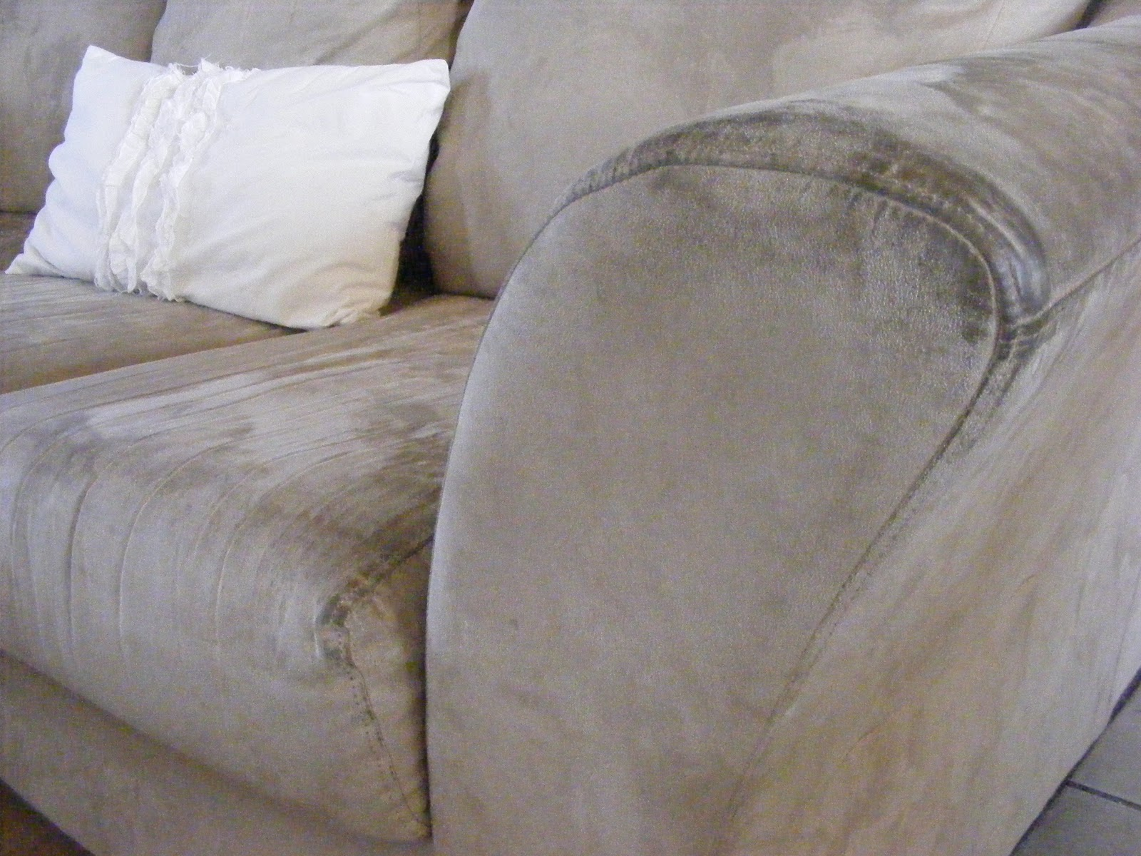 How to clean microfiber furniture 101 days of organization for Furniture 101