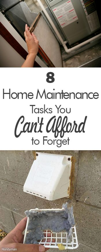 8 Home Maintenance Tasks You Can