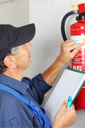checking fire extinguisher expiration date