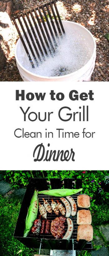 How to Get Your Grill Clean in Time for Dinner| Clean The Grill, How to Clean Your Grill, Quickly Clean Your Grill, Cleaning Tips and Tricks, Cleaning, How to Clean Your Home, Quickly Clean Your Grill, Clean Your Grill In Time for Dinner