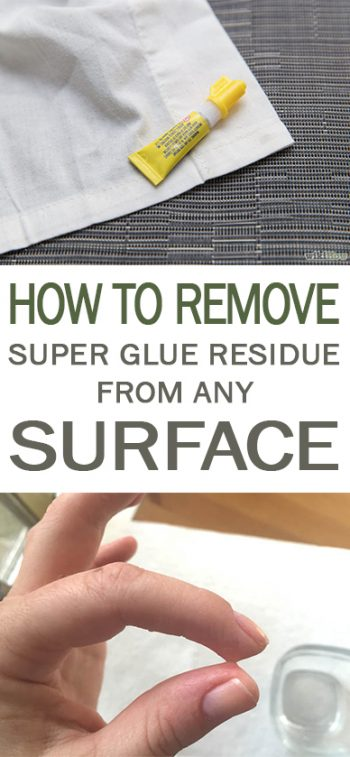 How to Remove Super Glue Residue from ANY Surface - 101 Days of Organization| How to Remove Super Glue Residue, Cleaning Super Glue Residue, How to Clean Super Glue, Cleaning Tips and Tricks, Home Cleaning Hacks, Clean Home Hacks