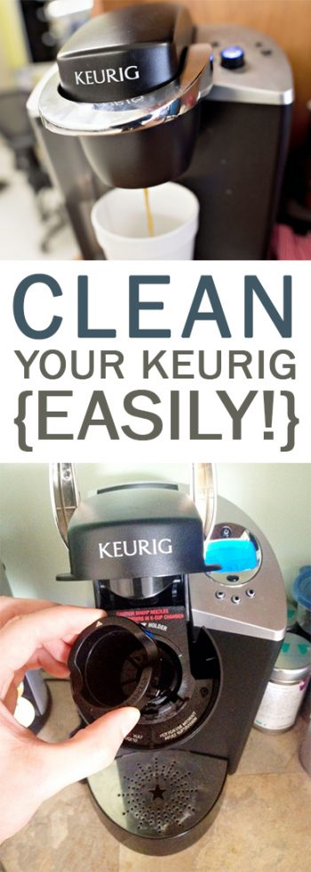 Clean Your Keurig {Easily!}