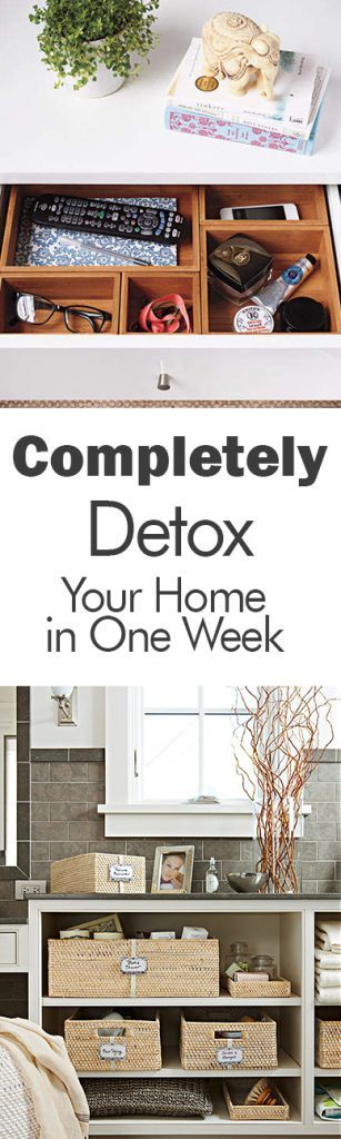 Completely Detox Your Home in One Week| How to Detox Your Home, Quickly Detox Your Home, How to Quickly Detox Your Home, Clean Home, Home Cleaning Tips and Tricks, Declutter Your Home, How to Declutter Your Home, Popular Pin