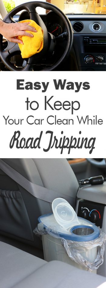 Easy Ways To Keep Your Car Clean While Road Tripping 101 Days Of Organization