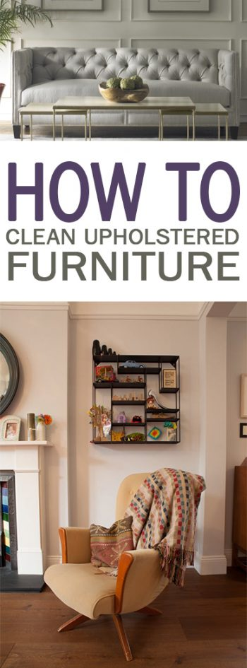How to clean upholstered furniture 101 days of organization for Furniture 101