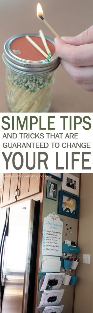 Simple Tips and Tricks That are Guaranteed to Change Your Life| Life Hacks, Easy Life Hacks, Tips and Tricks, Tips That Will Change Your Life, DIY Life Hacks, Easy Tips and Tricks, Popular Pin