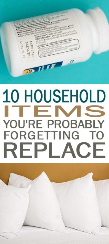 10 Household Items You're Probably Forgetting to Replace| Household Items, Household Items to Replace, DIY Home, Cleaning Products, Household Products to Replace, Replace These Household Products, Popular Pin
