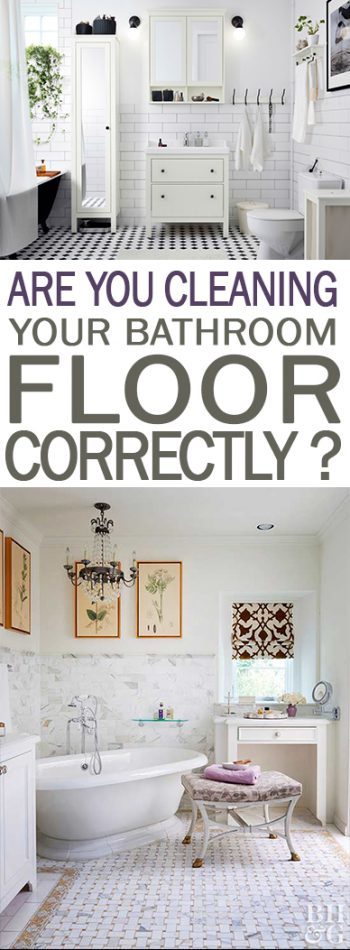 How to Clean Your Bathroom Floor, Cleaning The Bathroom Floor, Home Cleaning Tips, Home Cleaning Tips and Tricks, How to Clean Your Floor, Simple Ways to Clean Your Bathroom Floor, Bathroom Cleaning Tips and Tricks