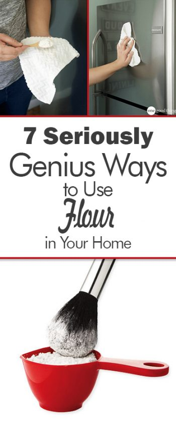 7 Seriously Genius Ways to Use Flour in Your Home  How to Use Flour, Use Flour In Your Home, Flour Uses, Uses for Flour, Ways to Use Flour In Your Home, Tips and Tricks, Home Tips and Tricks, Home Hacks, Popular Pin