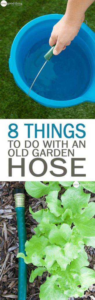 8 Things to Do With an Old Garden Hose - 101 Days of Organization| Uses for Garden Hoses, How to Recycle Garden Hoses, Gardening, Gardening Tips, Gardening Tricks, Upcycling Projects, Home Recycling Projects, Garden, Gardening Tips and Tricks. #Garden #RepurposeProject #Gardening #GardenHose