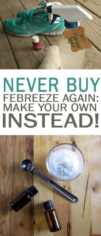 Never Buy Febreeze Again: Make Your Own Instead!  DIY Febreeze, Homemade Febreeze, DIY Products, Homemade Cleaning Products, Natural Living, DIY Natural Living, Cleaning, Cleaning Hacks, Freshen Your Home. #FreshenYourHome #Cleaning #DIYCleaningProducts