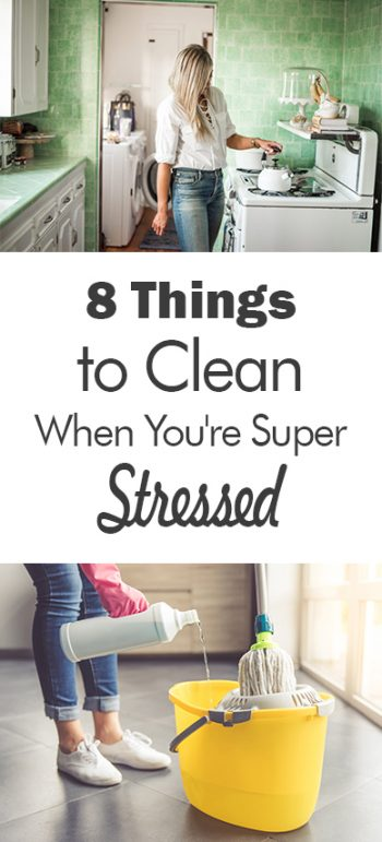 8 Things to Clean When You're Super Stressed - 101 Days of Organization| Cleaning, Cleaning Hacks, Home Cleaning, Home Cleaning Hacks, DIY Clean, DIY Cleaning, Clean Home #Cleaning #DIYClean