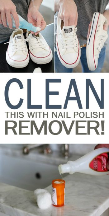 Clean This With Nail Polish Remover! - 101 Days of Organization| Nail Polish Remover, Nail Polish, Nail Polish Hacks, Cleaning, Cleaning Hacks, Cleaning 101, Home Hacks, DIY Home